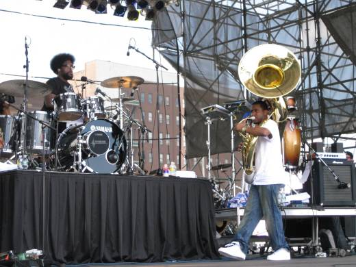 Questlove, Tuba Gooding Jr