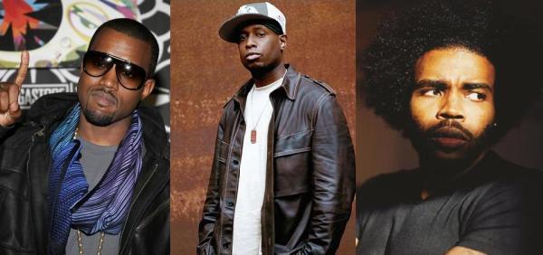 Kanye West, Talib Kweli & Pharaohe Monch
