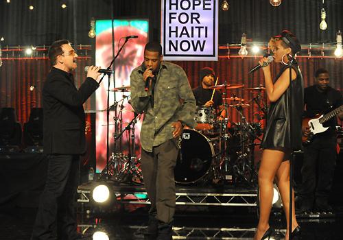 Bono, Jay-Z & Rihanna