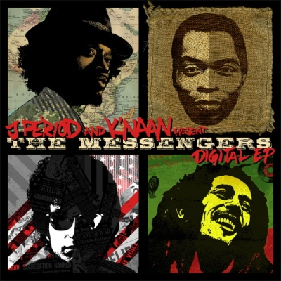 K'Naan & J. Period - The Messengers (Tribute to Fela Kuti, Bob Marley & Bob Dylan)